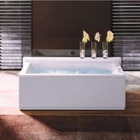 Lisna Waters Liberty 1700mm x 750mm Doubled Ended Rectangular 14 Jet Encore Whirlpool Bath